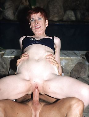 Mature redhead deals a large dong in excellent XXX scenes