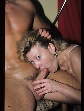 Busty mature woman feels young again by fucking a stripper