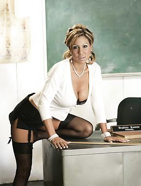 Sexy MILF Teacher