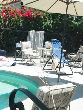 Kacie Starr pool
