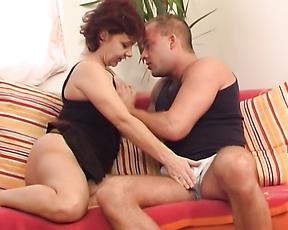 Ravishing sexual moments for mommy during sex
