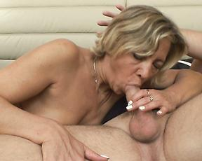 Busty nude milf merciless fucked by younger man in heats