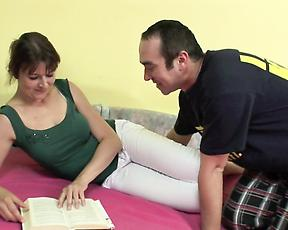 Busty mature sure loves being filmed when fucking