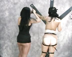 BDSM  lesbian fuck play for two lesbians