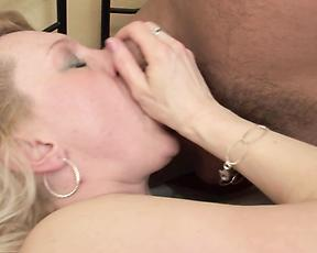 Serious fuck session with two young men for the mature mom