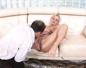 Tight milf gets the cock she wanted in a long time