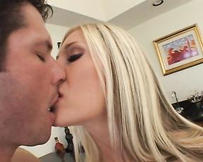 Steamy anal action on the couch for Michelle B