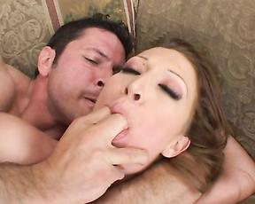 Busty wife feels her step son deeper than anything