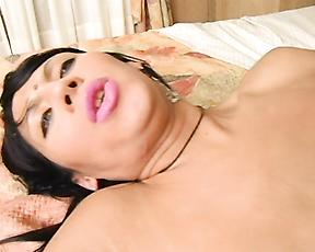 Home alone mommy gets ass fucked by the young neighbor