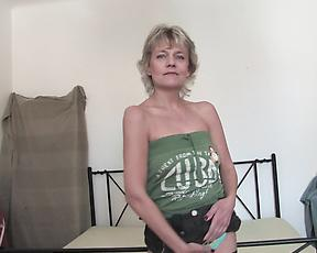 Blonde mature solo