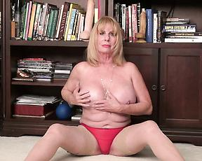 Granny strips naked discussion