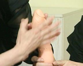 Mature women in raw scenes of lesbian romance